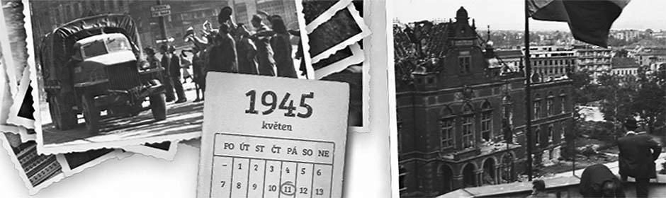 Tematický web s autentickými dokumenty připomíná sedmdesáté výročí osvobození Brna