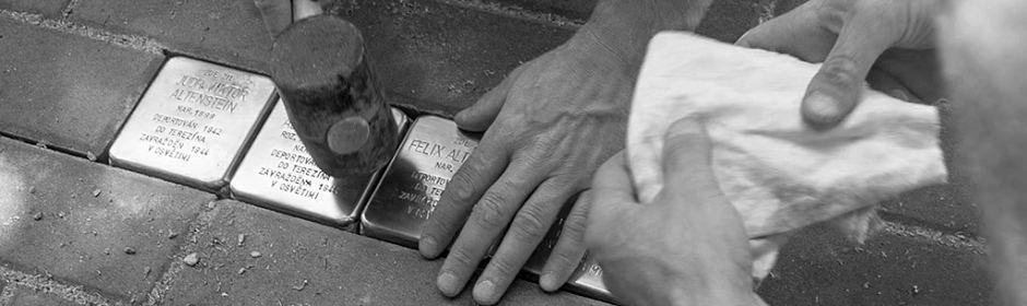 Stolpersteine: stumble over a memory